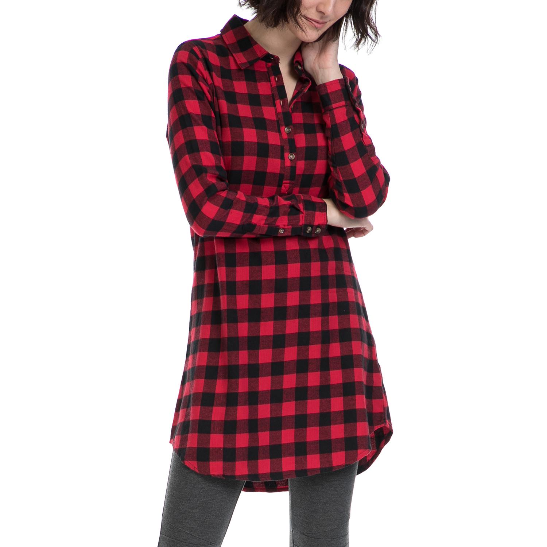 527079134acf Γυναικεία   Ρούχα   Πουκάμισα   Τουνίκ με κεντήματα και δέσιμο ...