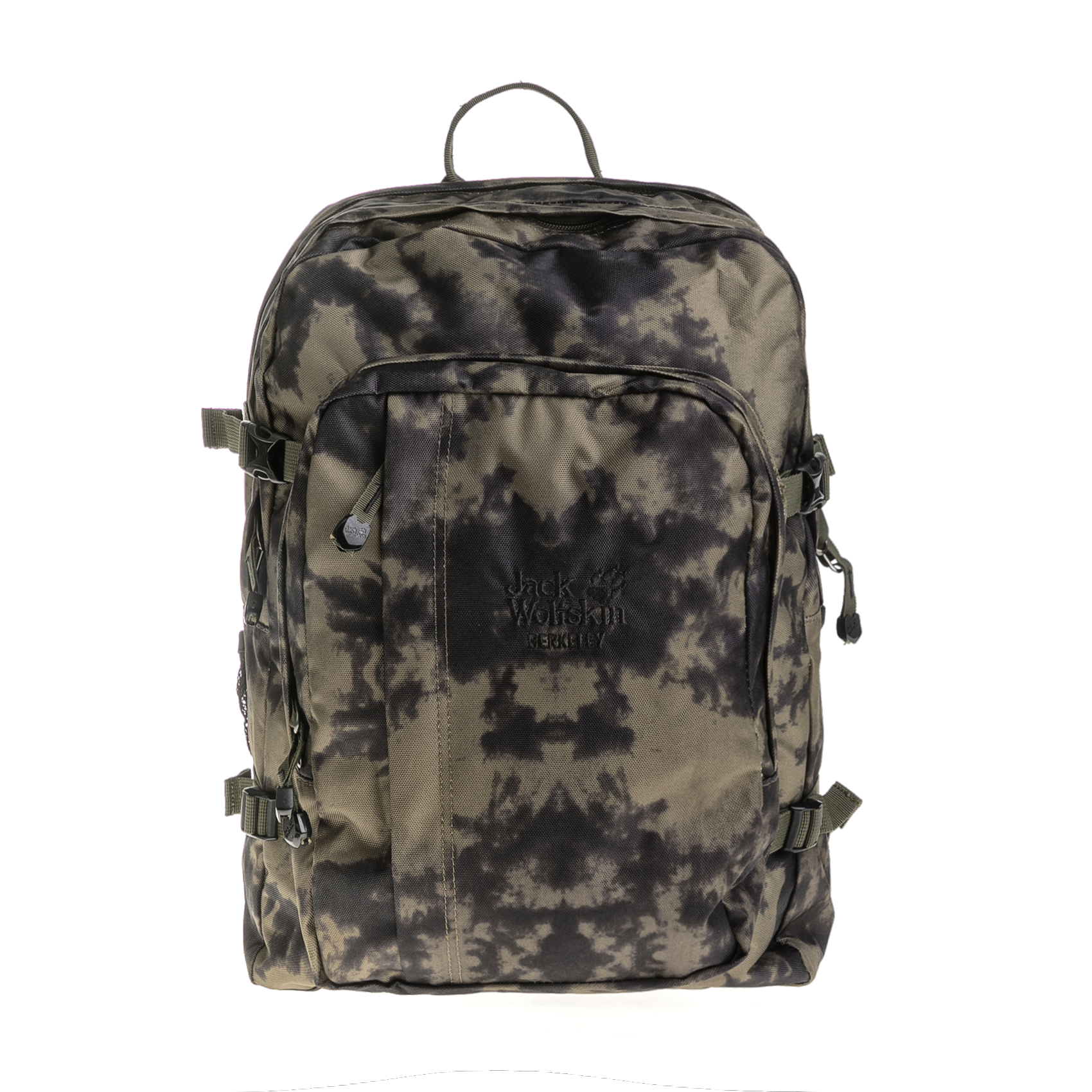 JACK WOLFSKIN – Σακίδιο πλάτης BERKELEY DAYPACK EQUIPMENT JACK WOLFSKIN χακί-μαύρο 1635932.0-6800