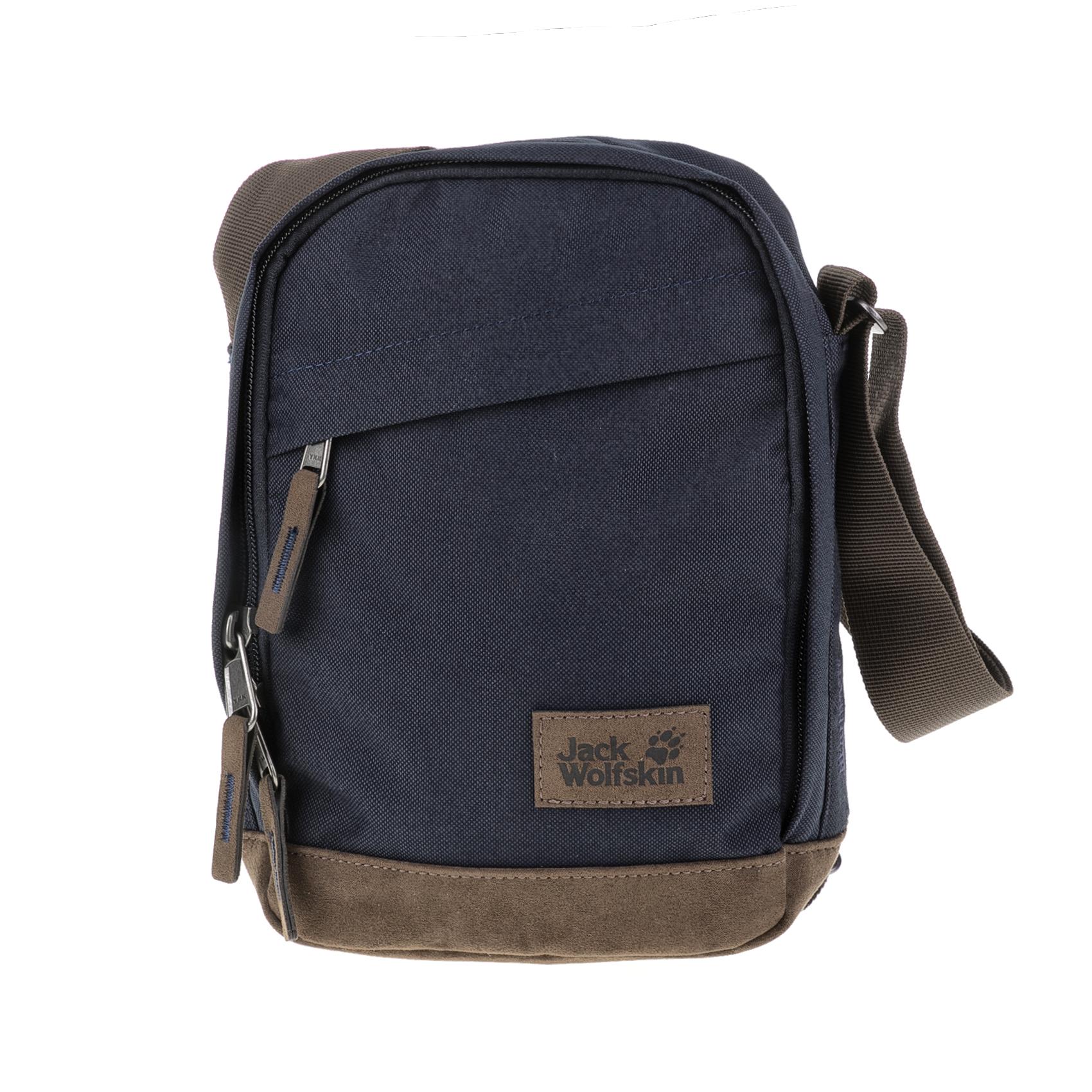 JACK WOLFSKIN – Τσαντάκι ώμου HEATHROW SHOULDER BAG EQUIPME JACK WOLFSKIN μπλε-καφέ 1635935.0-1100