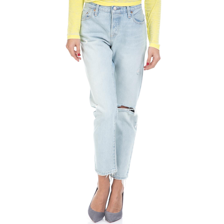 LEVI'S – Γυναικείο τζιν παντελόνι 501 CT JEANS FOR WOMEN DESERT LEVI'S μπλε