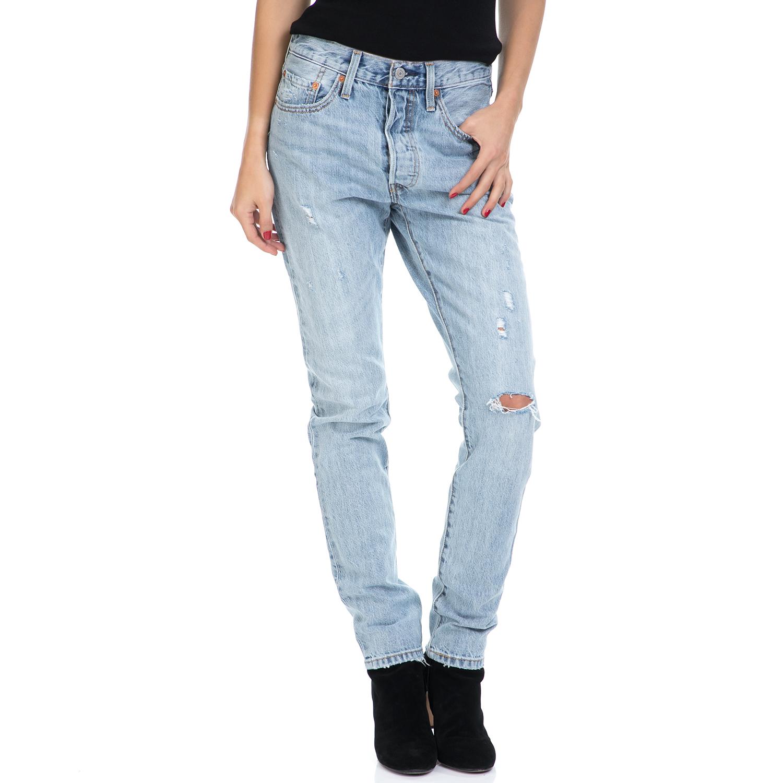 LEVI'S – Γυναικείο τζν παντελόνι 501 SKINNY CLEAR MINDS LEVI'S μπλε