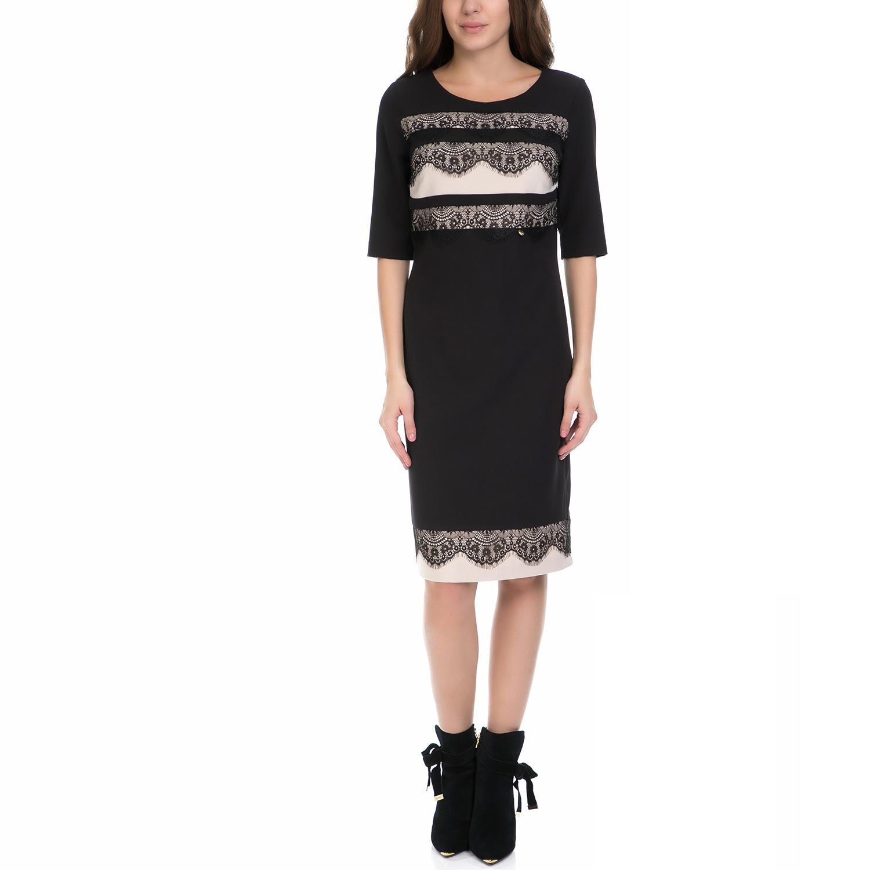 VS - Γυναικείο φόρεμα VS μαύρο γυναικεία ρούχα φορέματα μέχρι το γόνατο