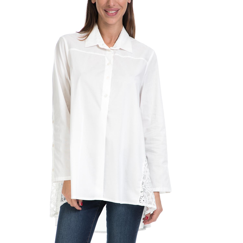 VS - Γυναικείο πουκάμισο VS λευκό γυναικεία ρούχα πουκάμισα μακρυμάνικα
