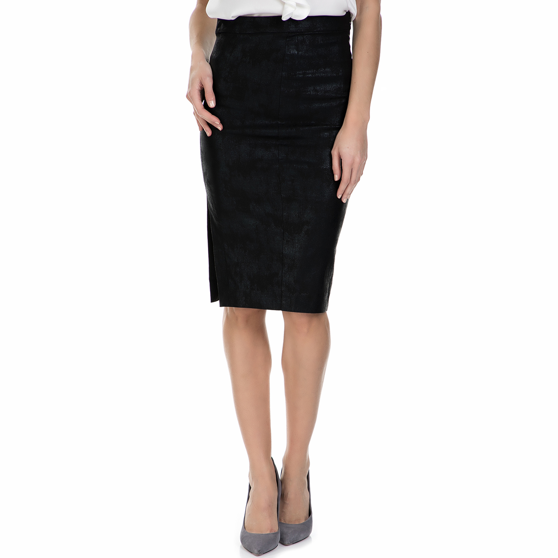 MY TIFFANY – Μίντι φούστα My Tiffany μαύρη