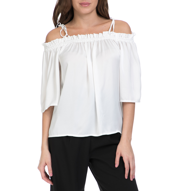 MY TIFFANY – Γυναικεία μπλούζα MY TIFANNY λευκή