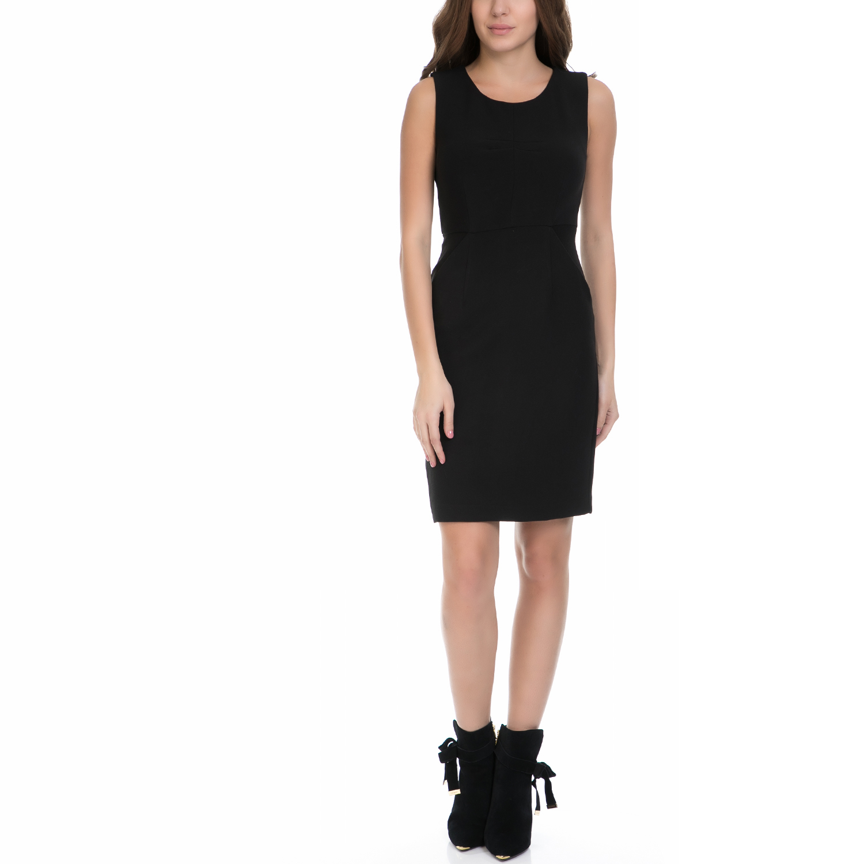 MY TIFFANY - Γυναικείο φόρεμα MY TIFANNY μαύρο γυναικεία ρούχα φορέματα μίνι