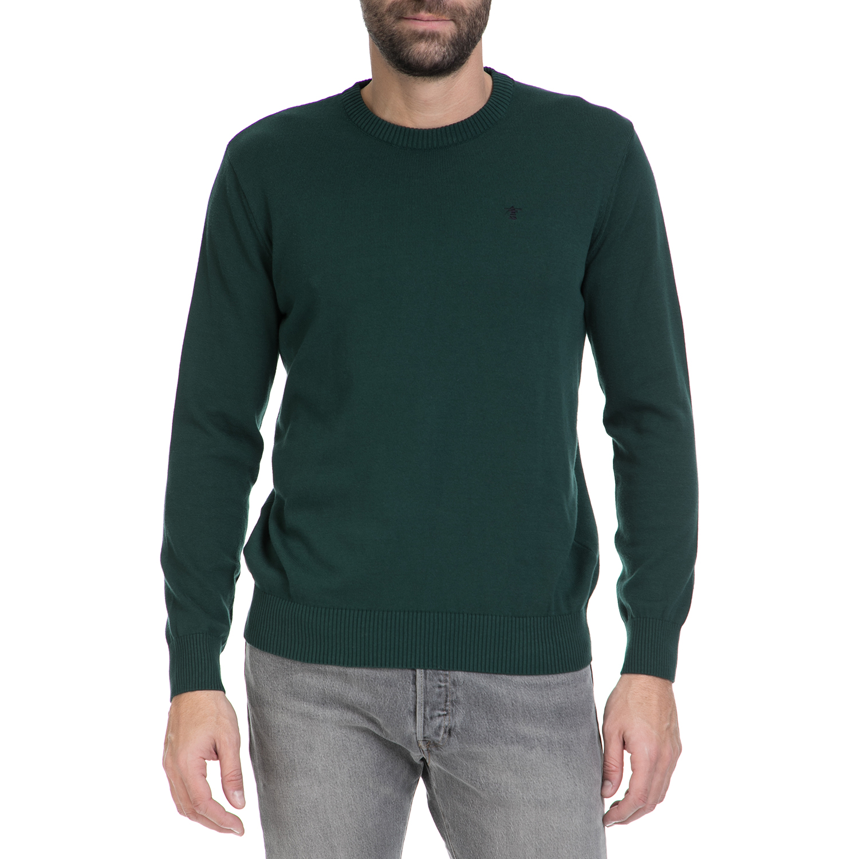 HAMPTONS – Ανδρικό πουλόβερ HAMPTONS πράσινο