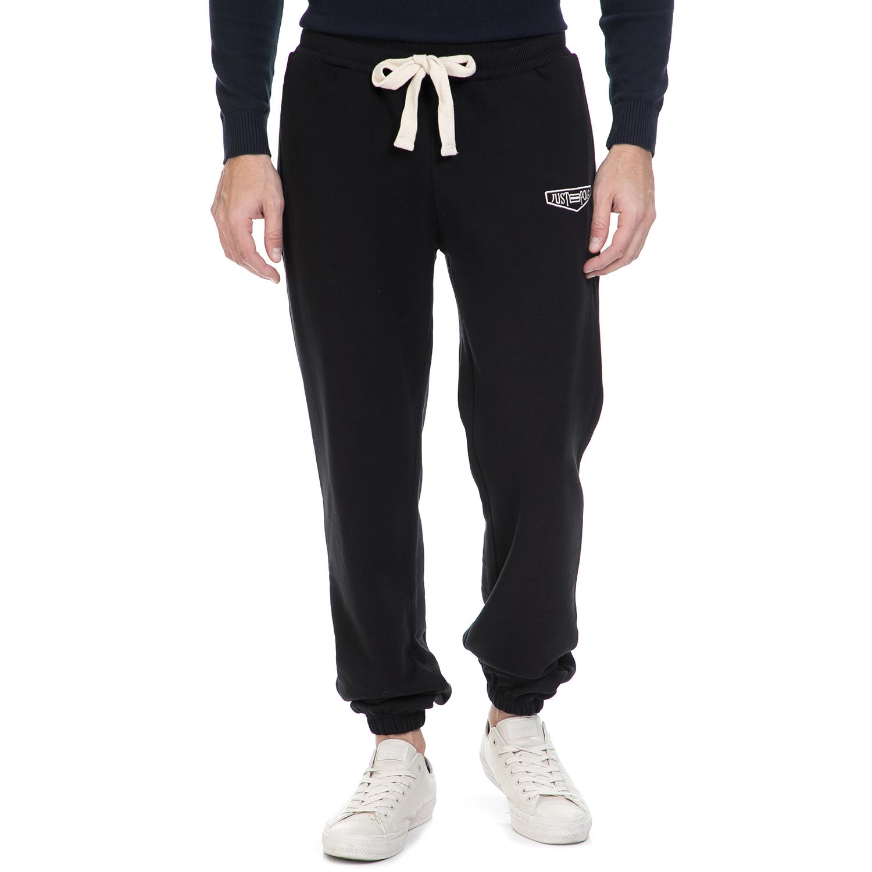 JUST POLO - Ανδρική φόρμα Just Polo μαύρη ανδρικά ρούχα αθλητικά φόρμες
