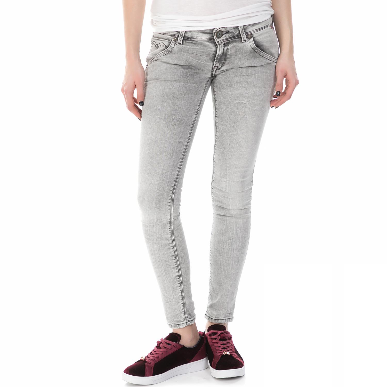 REPLAY – Γυναικείο τζιν παντελόνι Replay γκρι