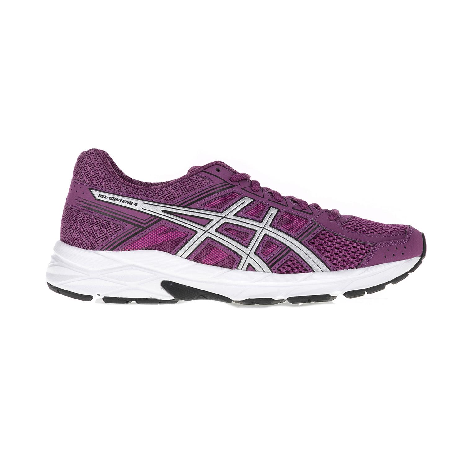 ASICS (FO) – Γυναικεία αθλητικά παπούτσια ASICS GEL-CONTEND 4 μοβ-λευκό