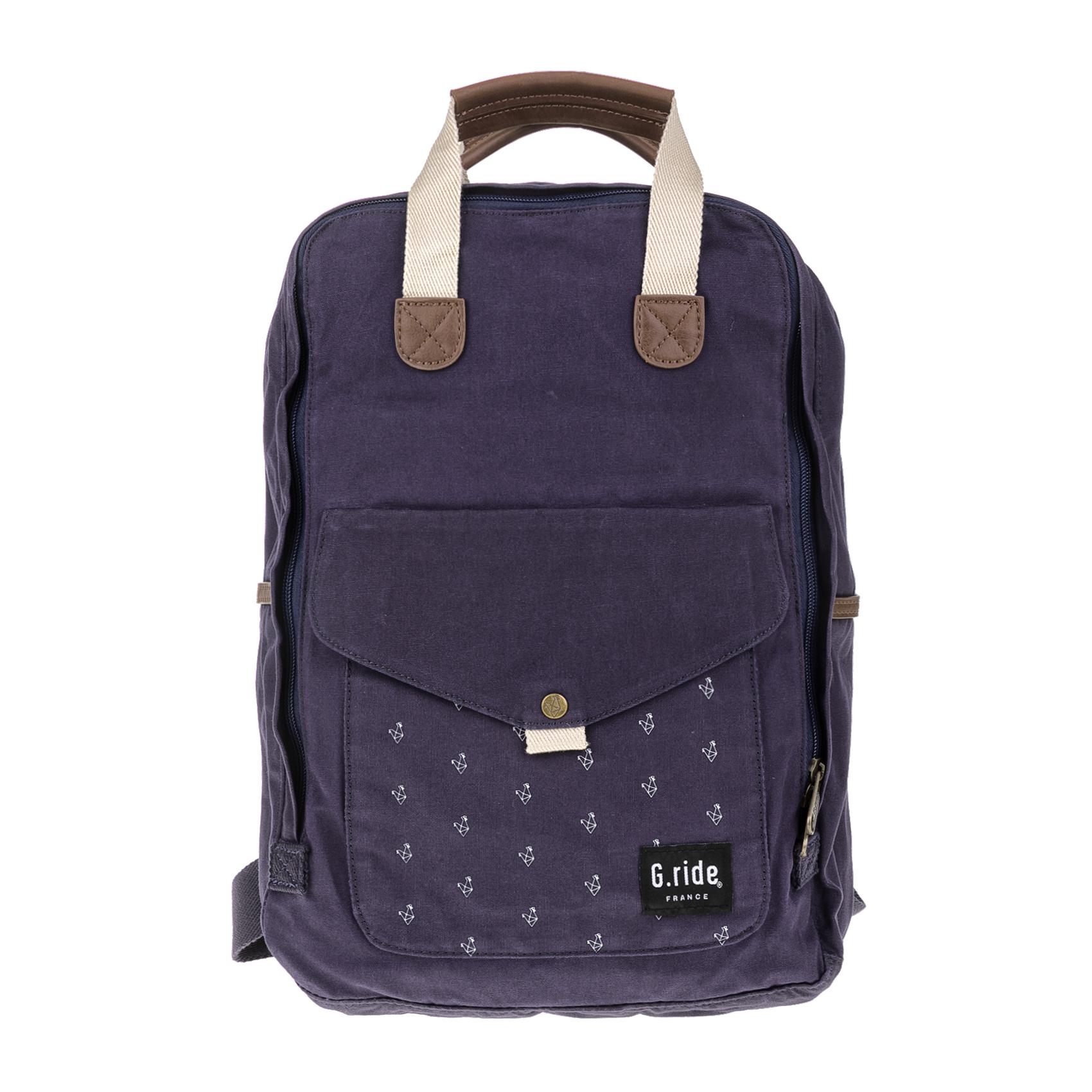G.RIDE – Τσάντα πλάτης BENEDICTE μπλε