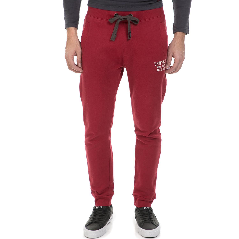 GREENWOOD - Ανδρική φόρμα GREENWOOD κόκκινη ανδρικά ρούχα αθλητικά φόρμες
