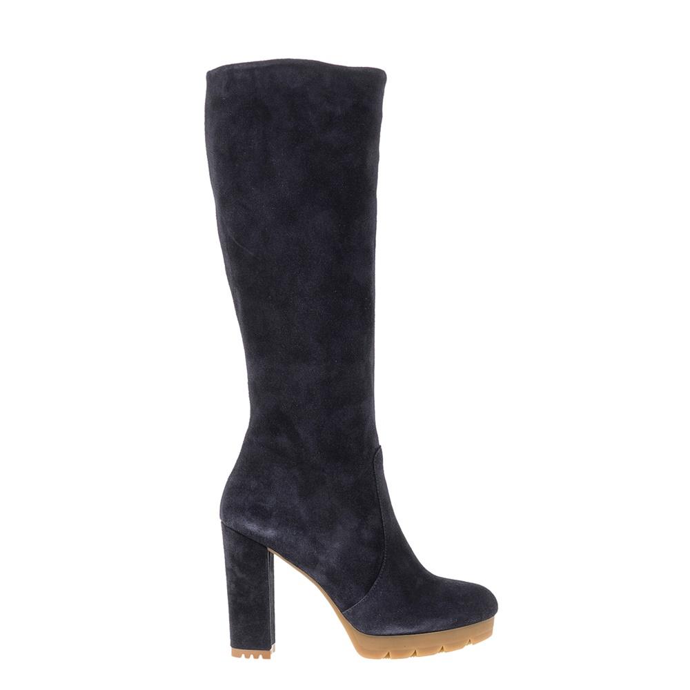 CHANIOTAKIS - Γυναικείες μπότες Chaniotakis μπλε γυναικεία παπούτσια μπότες μποτάκια μπότες