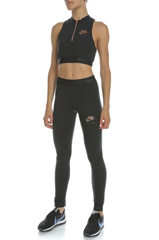 NIKE-Γυναικείο crop top NIKE NSW AIR TANK μαύρο