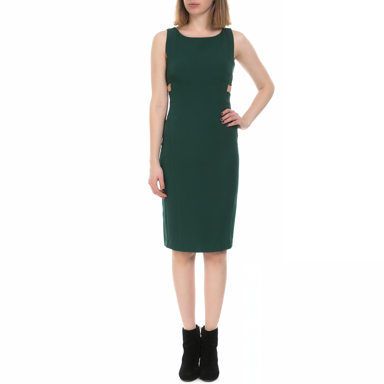 MY TIFFANY - Γυναικείο φόρεμα MY TIFFANY πράσινο γυναικεία ρούχα φορέματα μέχρι το γόνατο