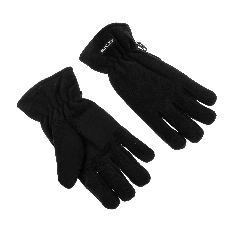 ICE PEAK - Ανδρικά γάντια Ice peak SYLVESTER μαύρα ανδρικά αξεσουάρ φουλάρια κασκόλ γάντια