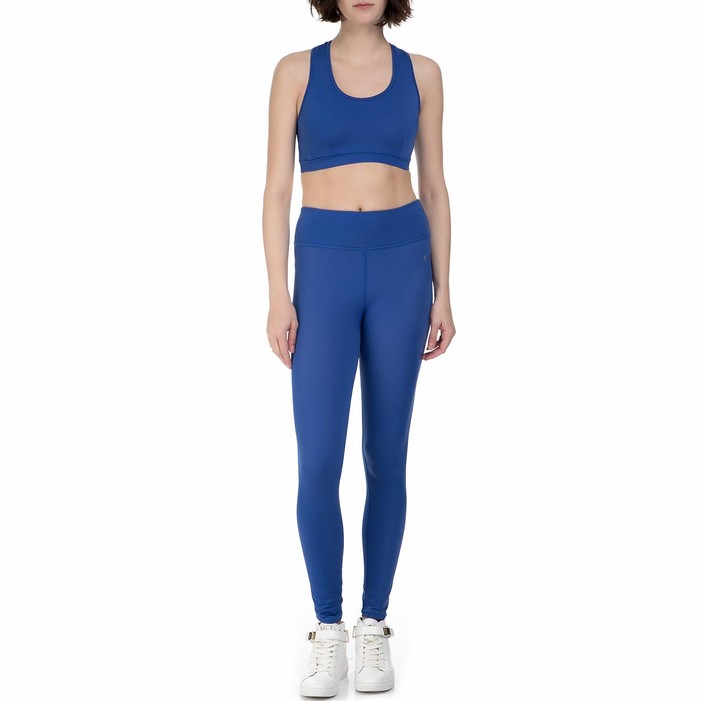 BAYA – Σετ γυναικείο αθλητικό κολάν και μπουστάκι Baya μπλε