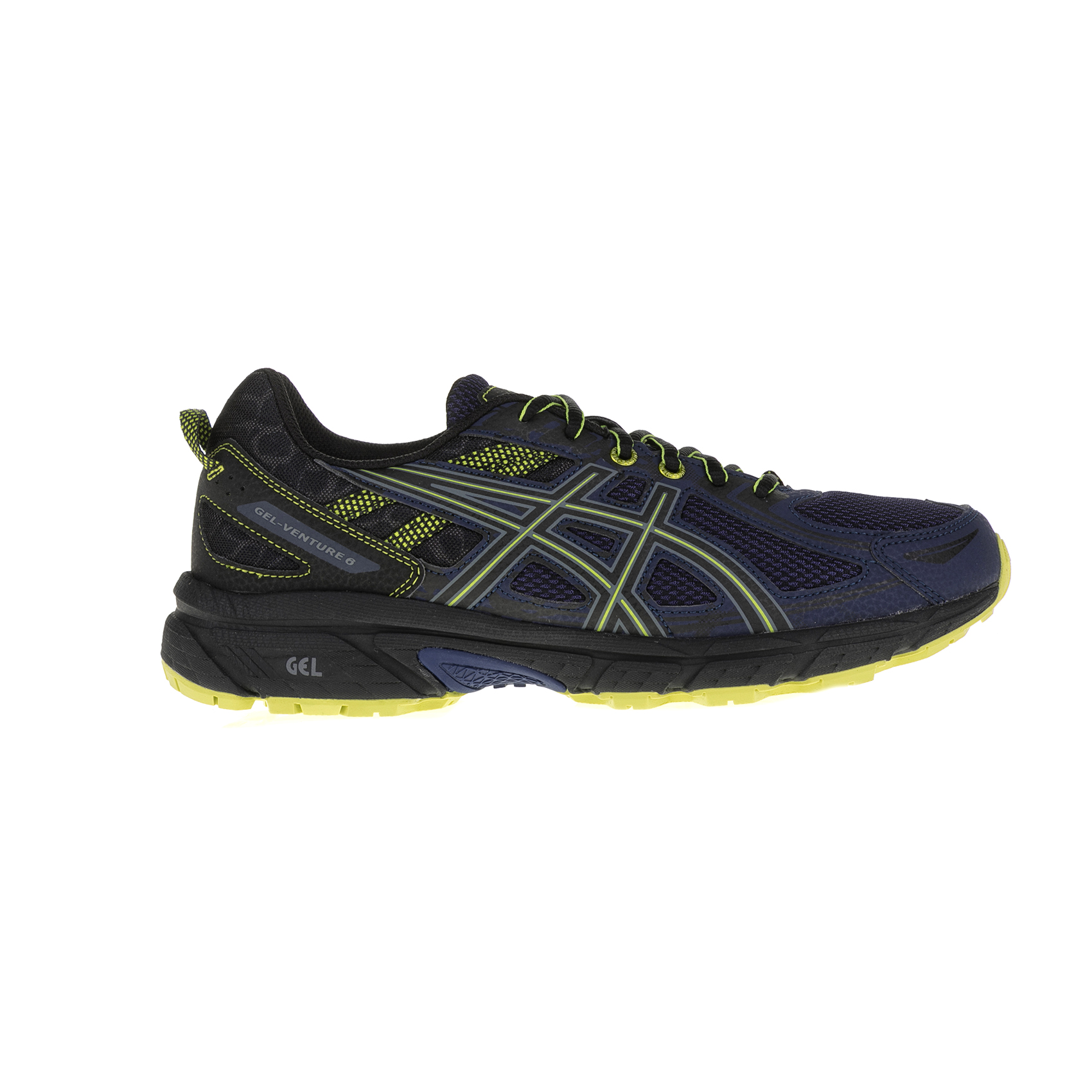 ASICS - Ανδρικά αθλητικά παπούτσια ASICS GEL-VENTURE 6 GS μαύρα-μπλε ανδρικά παπούτσια αθλητικά running