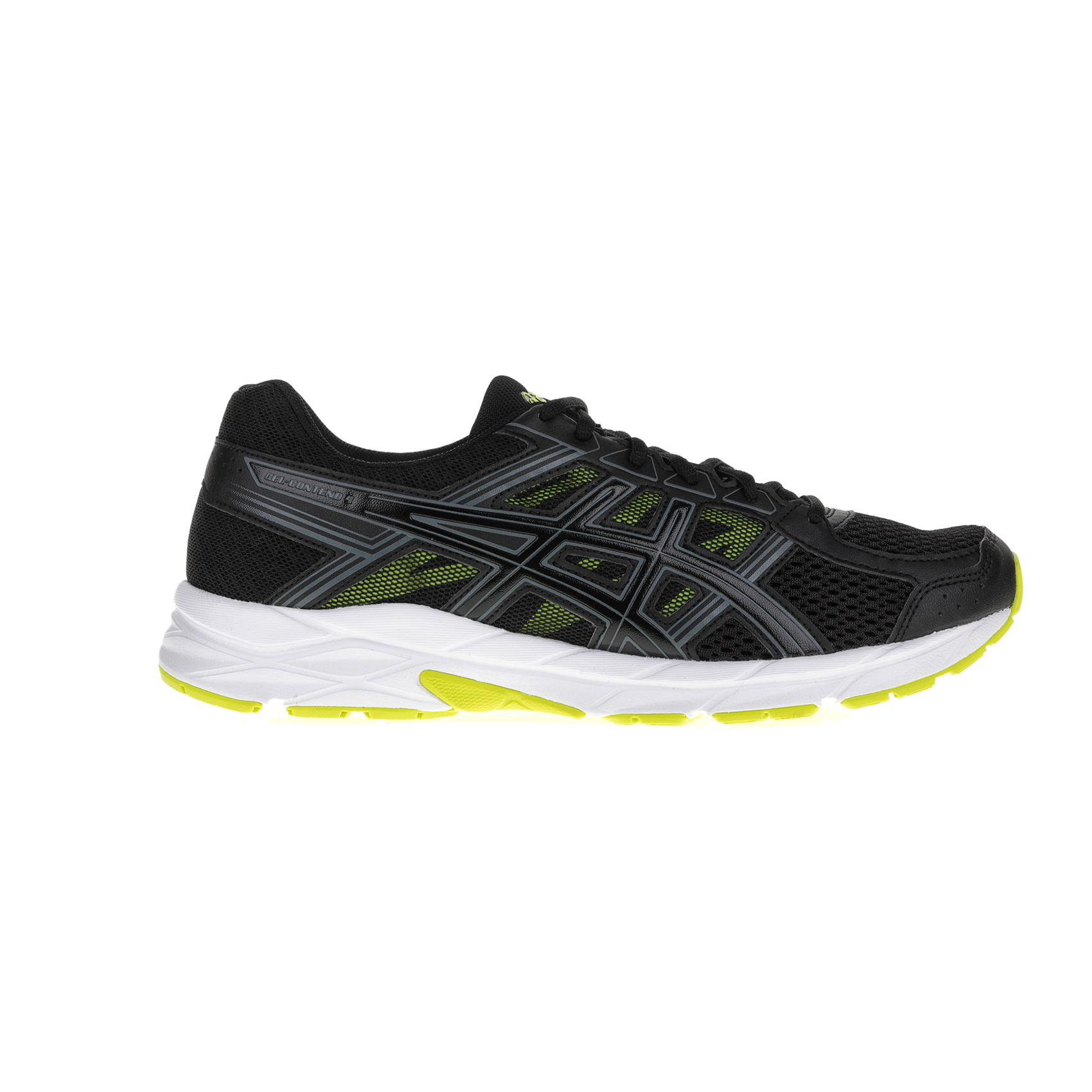 ASICS - Ανδρικά αθλητικά παπούτσια ASICS GEL-CONTEND 4 μαύρα ανδρικά παπούτσια αθλητικά running