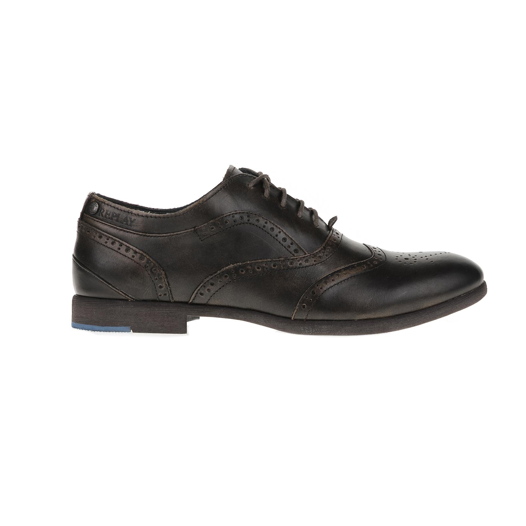REPLAY – Ανδρικά παπούτσια REPLAY καφέ