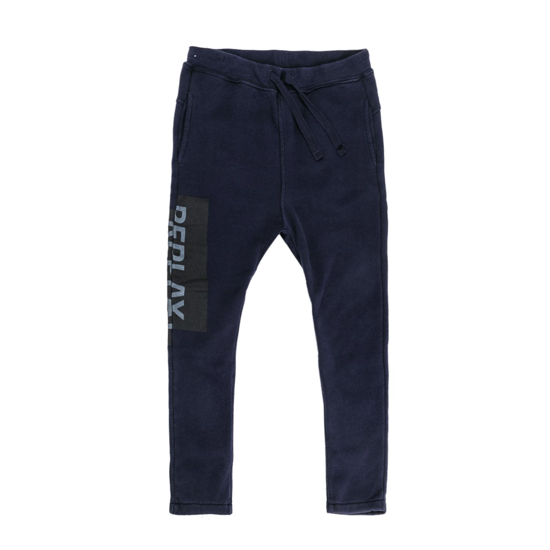 REPLAY – Παιδικό παντελόνι φόρμας Replay μπλε