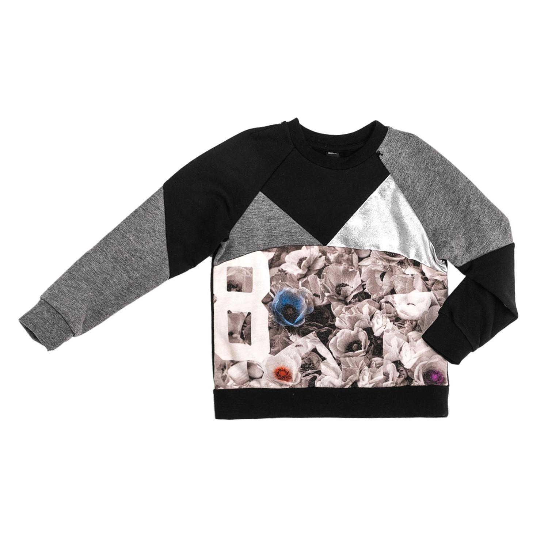 REPLAY – Παιδική φούτερ μπλούζα με λουλούδια Replay