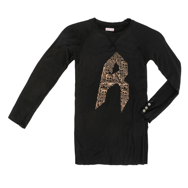 REPLAY – Παιδικό φόρεμα Replay μαύρο