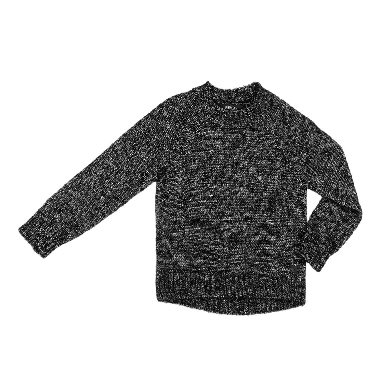 REPLAY – Παιδικό πουλόβερ Replay γκρι