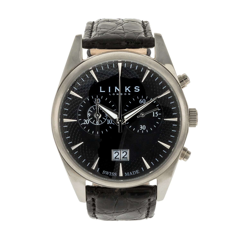 LINKS OF LONDON – Γυναικείο ρολόι Portobello LINKS OF LONDON μαύρο