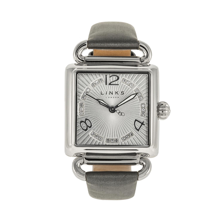 LINKS OF LONDON – Γυναικείο ρολόι DRIVER SQ LINKS OF LONDON ασημί