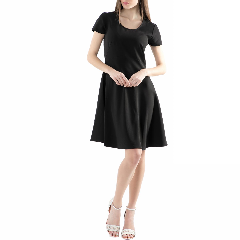 REPLAY - Φόρεμα REPLAY μαύρο γυναικεία ρούχα φορέματα μίνι