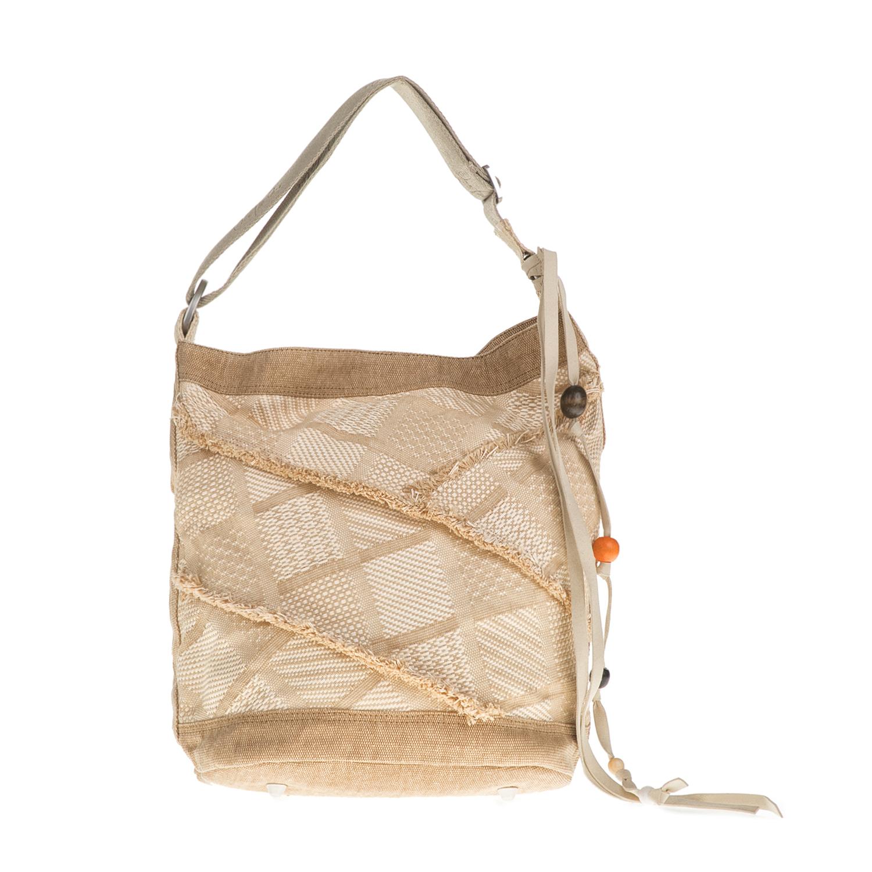 TOMS – Γυναικεία τσάντα ώμου TOMS μπεζ 52f34715b0c