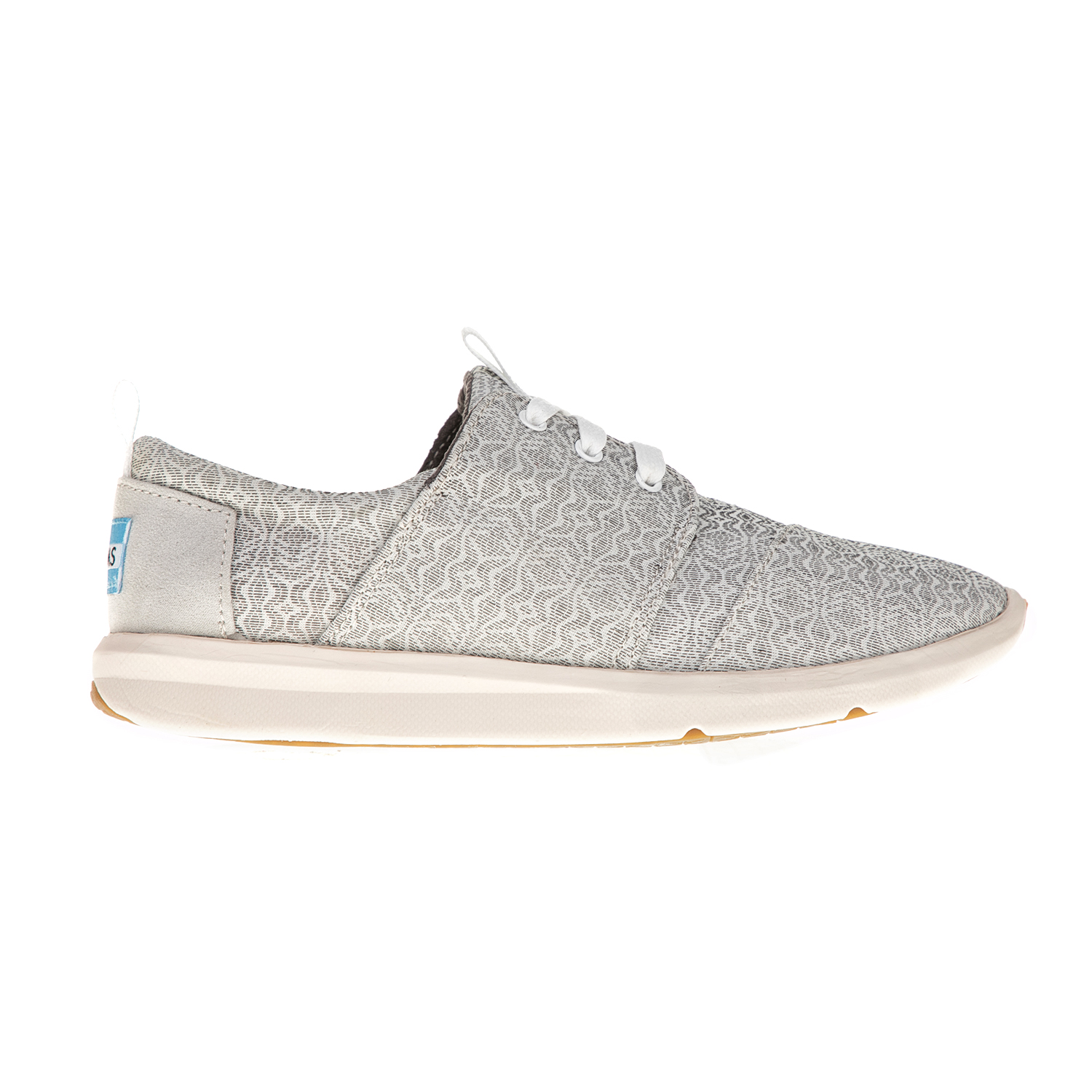 TOMS – Γυναικεία sneakers TOMS γκρι με μοτίβο