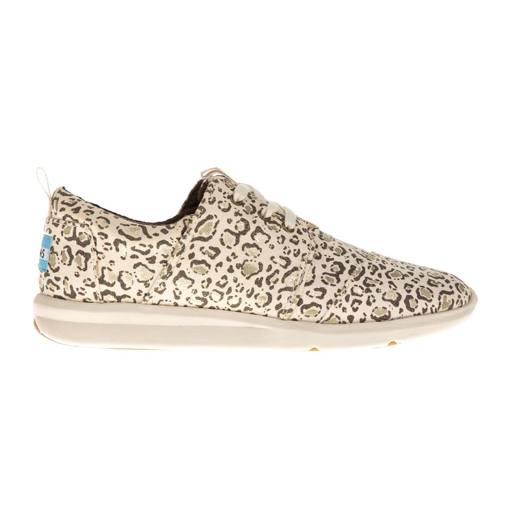 TOMS – Γυναικεία sneakers TOMS μπεζ με λεοπάρ μοτίβο