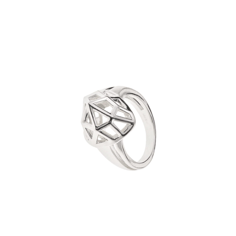 LINKS OF LONDON – Ασημένιο δαχτυλίδι F&W HEART – μέγεθος 56