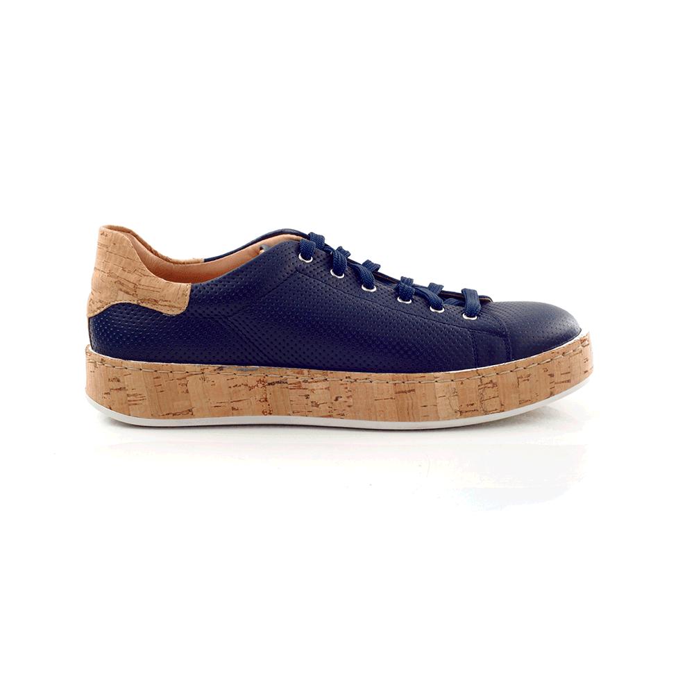 CHANIOTAKIS – Γυναικεία sneakers CHANIOTAKIS μπλε