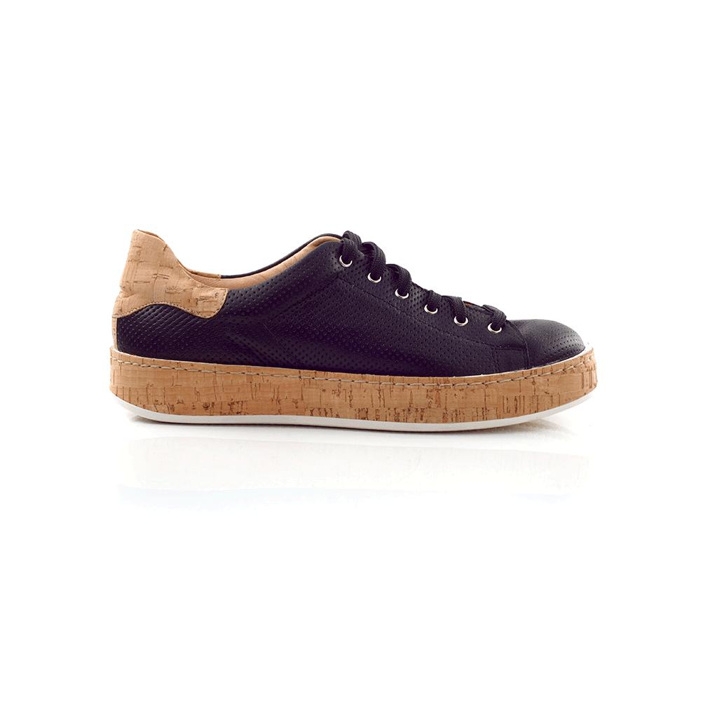 -42% CHANIOTAKIS – Γυναικεία sneakers CHANIOTAKIS μαύρα df6f9be62f0