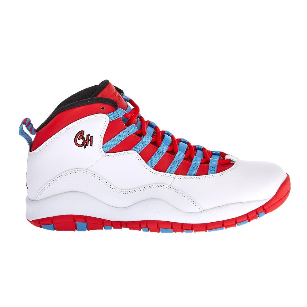 NIKE – Ανδρικά παπούτσια Nike AIR JORDAN RETRO 10 κόκκινα-λευκά
