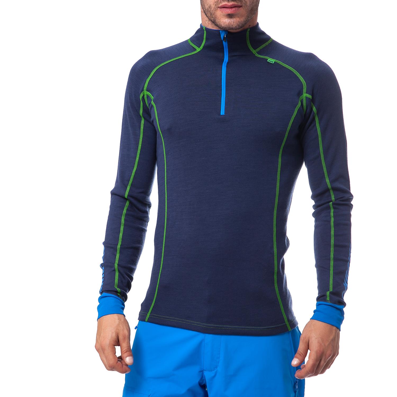 HELLY HANSEN - Ανδρική εσωθερμική μπλούζα Helly Hansen μπλε ανδρικά ρούχα αθλητικά φούτερ μακρυμάνικα