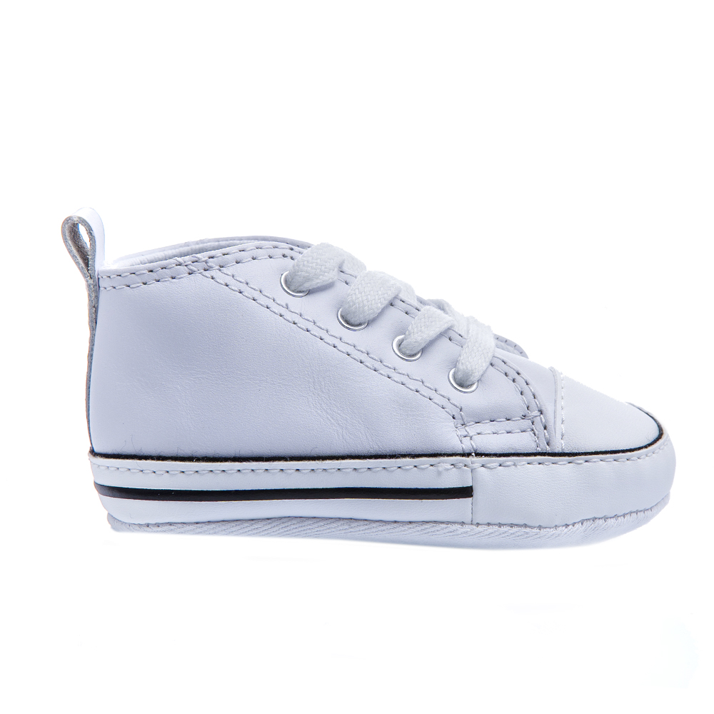 CONVERSE – Βρεφικά παπούτσια Chuck Taylor First Star λευκά
