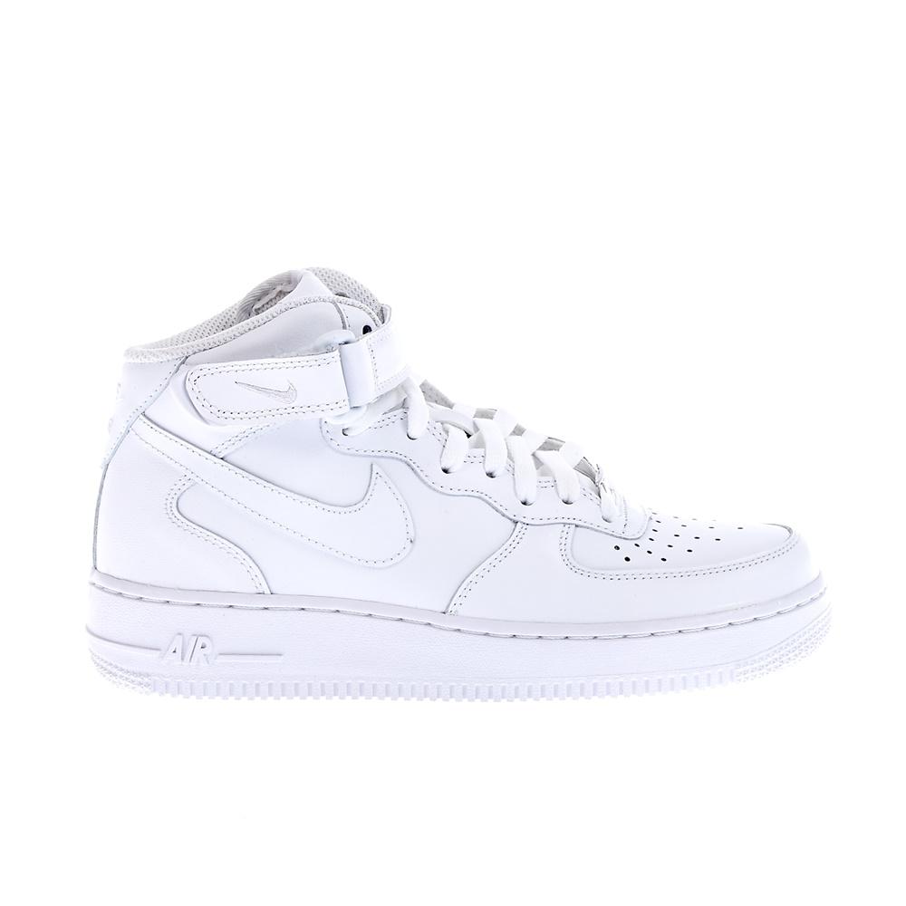 NIKE - Ανδρικά παπούτσια Nike AIR FORCE 1 MID λευκά ανδρικά παπούτσια αθλητικά basketball