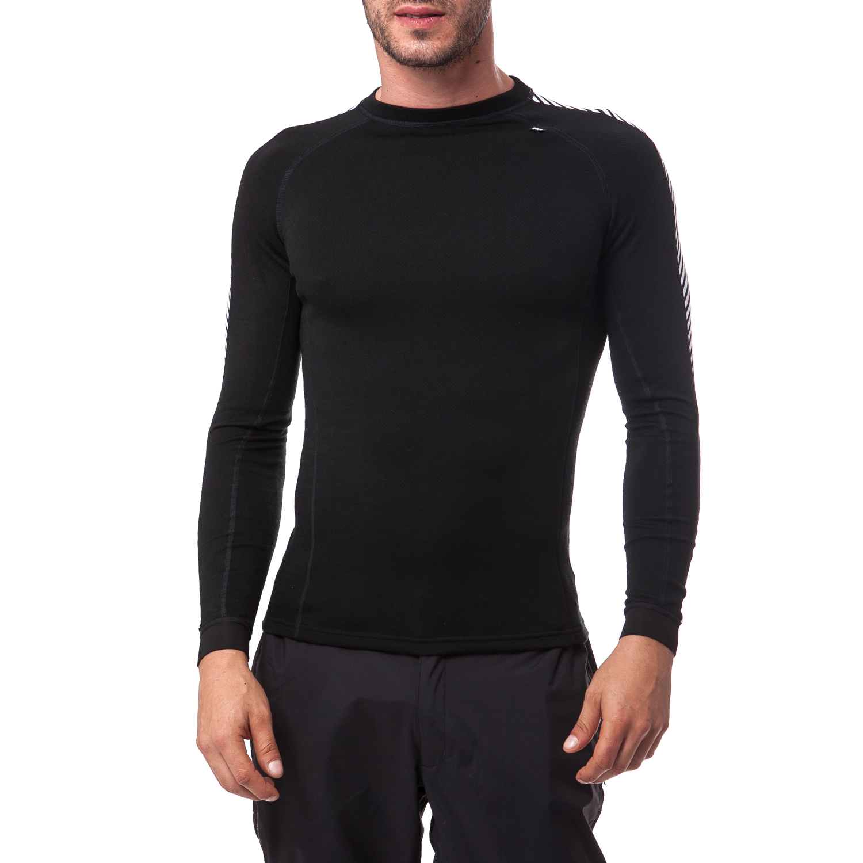 HELLY HANSEN - Ανδρική εσωθερμική μπλούζα Helly Hansen μαύρη ανδρικά ρούχα αθλητικά φούτερ μακρυμάνικα