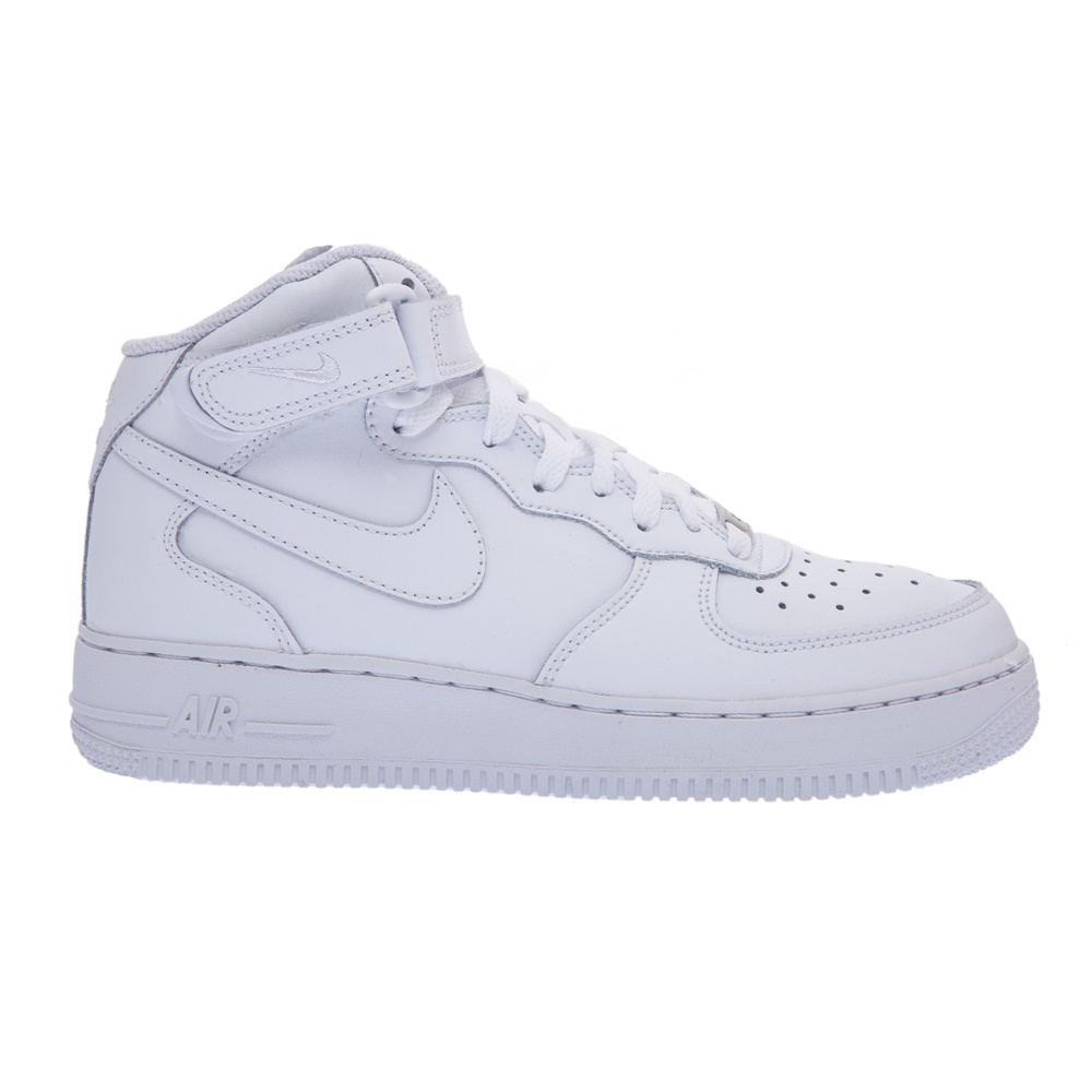 NIKE – Παιδικά παπούτσια NIKE AIR FORCE 1 MID λευκά