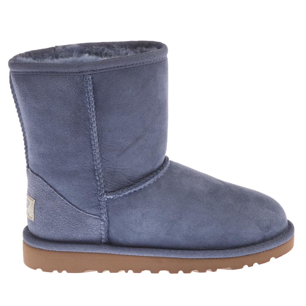 UGG - Παιδικά μποτάκια Ugg Australia μπλε μελανζέ παιδικά boys παπούτσια μπότες μποτάκια