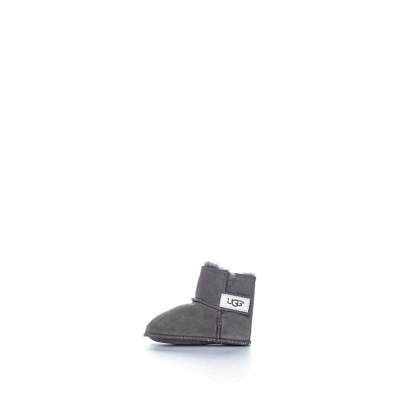 UGG AUSTRALIA - Βρεφικά μποτάκια Ugg Erin γκρι παιδικά baby παπούτσια μπότες μποτάκια