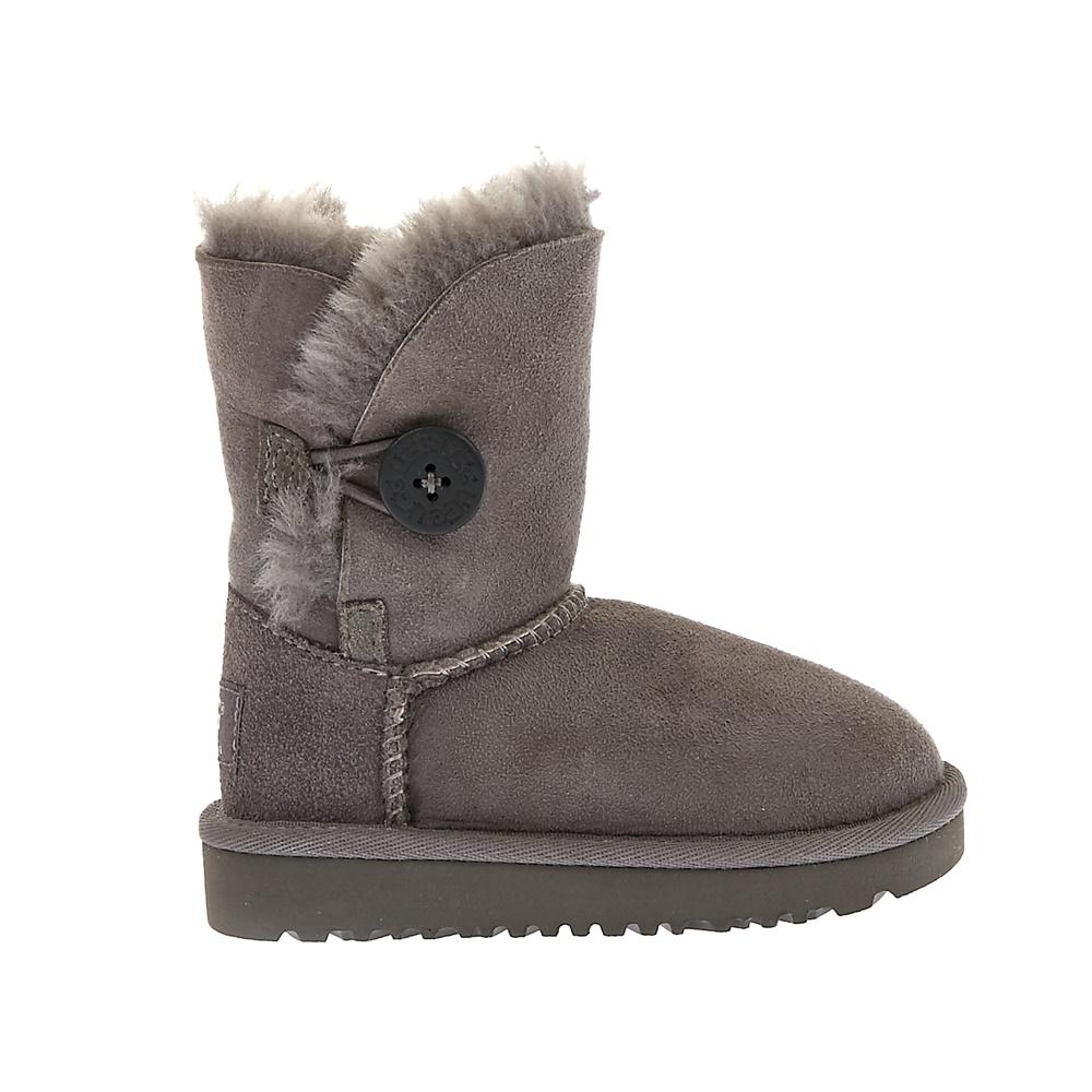 UGG AUSTRALIA - Βρεφικά μποτάκια Ugg Australia γκρι παιδικά baby παπούτσια μπότες μποτάκια