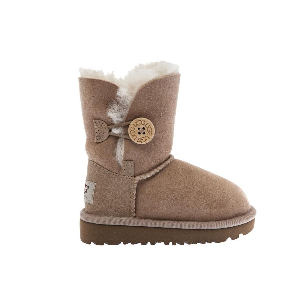 UGG AUSTRALIA - Βρεφικά μποτάκια Ugg Australia μπεζ παιδικά baby παπούτσια μπότες μποτάκια