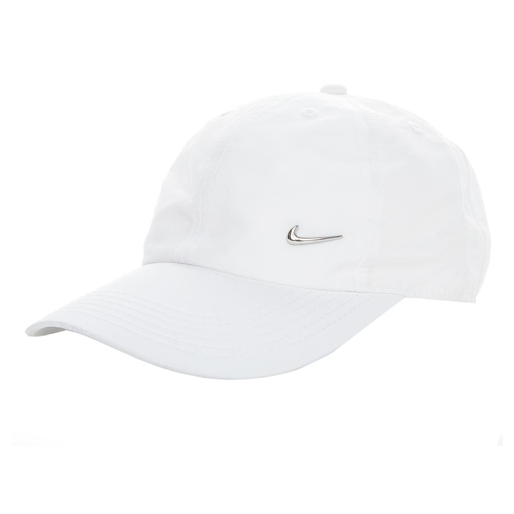 NIKE - Παιδικό καπέλο τζόκεϋ Nike λευκό παιδικά boys αξεσουάρ καπέλα