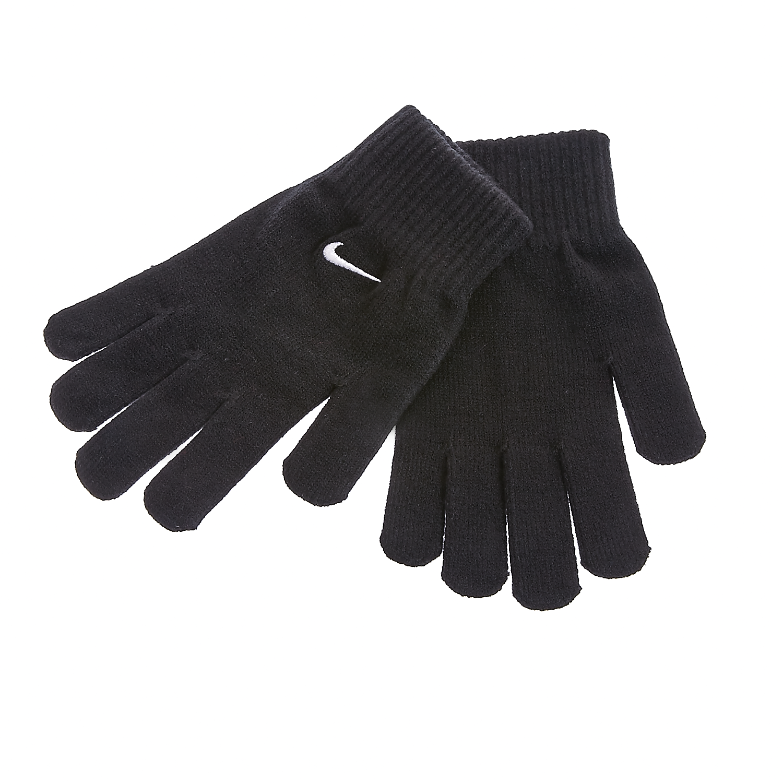 NIKE - Γάντια Nike μαύρα γυναικεία αξεσουάρ φουλάρια κασκόλ γάντια