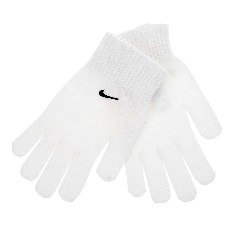 NIKE - Γάντια Nike λευκά γυναικεία αξεσουάρ φουλάρια κασκόλ γάντια